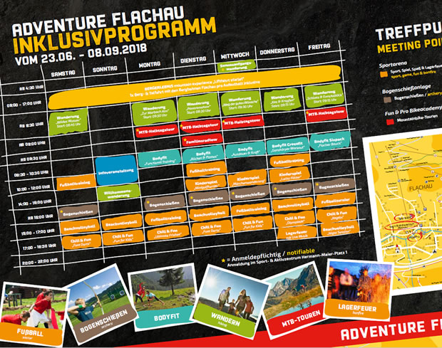 Family Adventure Wochenprogramm 2018