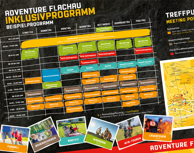 Family Adventure Wochenprogramm 2020