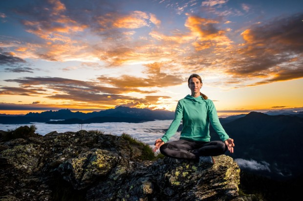 Yoga mit Bettina Eckel in den Bergen